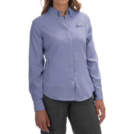Columbia Sportswear Tamiami II Fishing Shirt - UPF 40, Long Sleeve (For Women) in Pale Purple - Closeouts