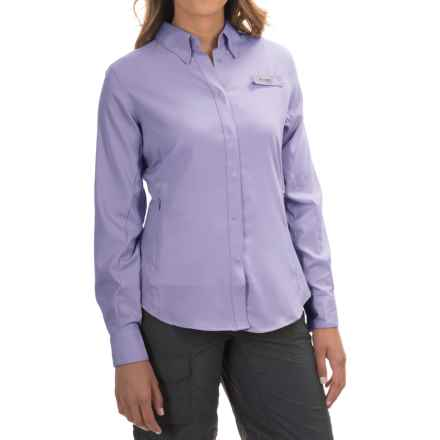 Columbia Sportswear Tamiami II Fishing Shirt - UPF 40, Long Sleeve (For Women) in Whitened Violet - Closeouts