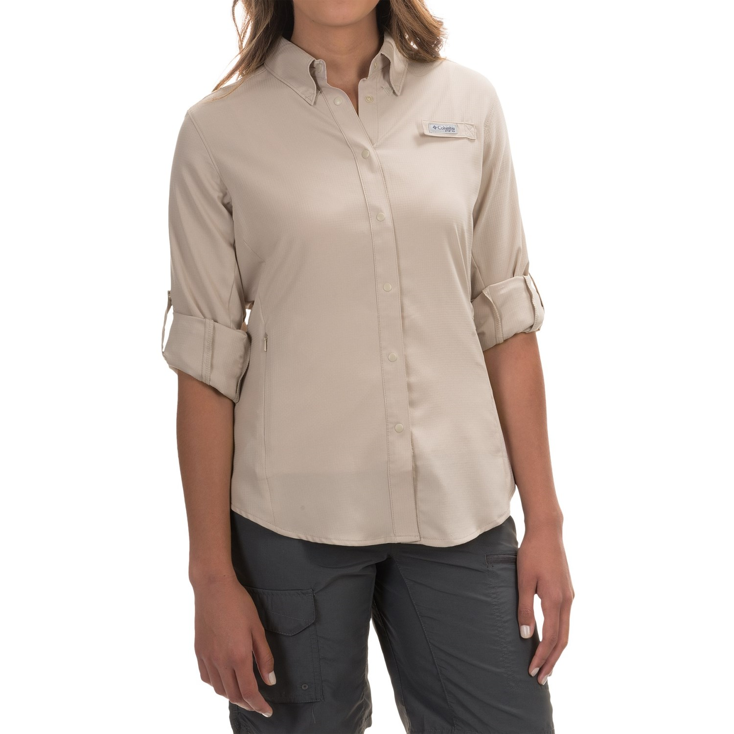 Columbia sportswear tamiami ii fishing shirt for women for Lightweight breathable long sleeve shirts