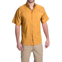Columbia Sportswear Tamiami II Fishing Shirt - UPF 40, Short Sleeve (For Men) in Amber - Closeouts