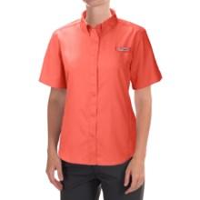 Columbia Sportswear Tamiami II Fishing Shirt - UPF 40, Short Sleeve (For Women) in Coral Flame - Closeouts