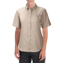 Columbia Sportswear Tamiami II Fishing Shirt - UPF 40, Short Sleeve (For Women) in Fossil - Closeouts
