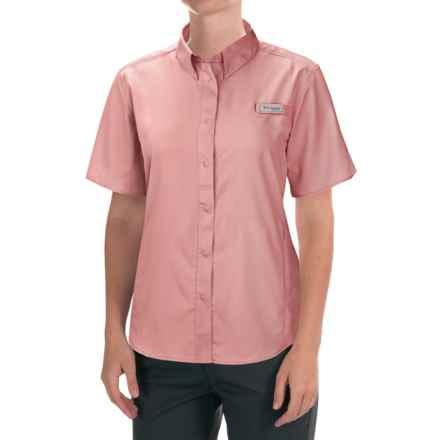 Columbia Sportswear Tamiami II Fishing Shirt - UPF 40, Short Sleeve (For Women) in Rosewater - Closeouts