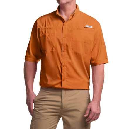 Columbia Sportswear Tamiami II Omni-Shade® Shirt - UPF 40, Short Sleeve (For Tall Men) in Valencia - Closeouts