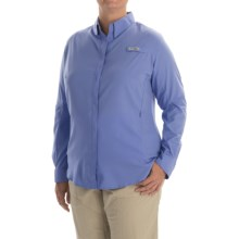 Columbia Sportswear Tamiami II Shirt - Plus Size, Long Sleeve (For Women) in Pale Purple - Closeouts