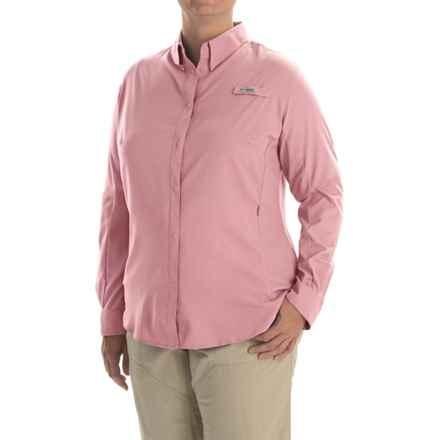 Columbia Sportswear Tamiami II Shirt - Plus Size, Long Sleeve (For Women) in Rosewater - Closeouts