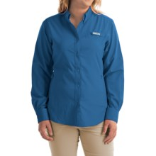 Columbia Sportswear Tamiami II Shirt - Plus Size, Long Sleeve (For Women) in Stormy Blue - Closeouts