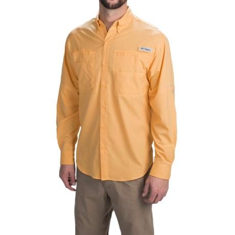 Columbia Sportswear Tamiami II Shirt - UPF 40, Long Sleeve (For Men) in Amber