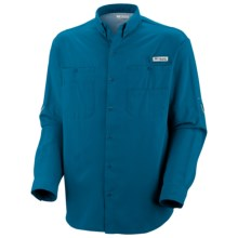 Columbia Sportswear Tamiami II Shirt - UPF 40, Long Sleeve (For Men) in Ocean - Closeouts