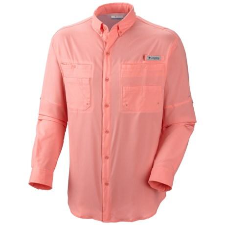 Columbia Sportswear Tamiami II Shirt - UPF 40, Long Sleeve (For Men) in Sorbet