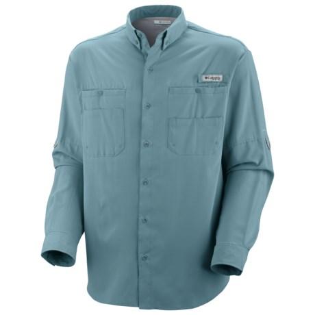 Columbia Sportswear Tamiami II Shirt - UPF 40, Long Sleeve (For Men) in Storm