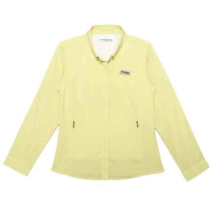 Columbia Sportswear Tamiami Shirt - UPF 40, Long Sleeve (For Little and Big Girls) in Endive