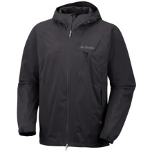 Columbia Sportswear Tech Attack Shell Jacket - Waterproof (For Men) in Black - Closeouts