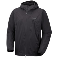 Columbia Sportswear Tech Attack Shell Jacket - Waterproof (For Men) in Black