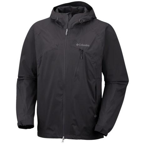 Columbia Sportswear Tech Attack Shell Jacket - Waterproof (For Men) in Black