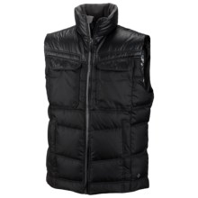 Columbia Sportswear Tech District Omni-Heat® Down Vest - 700 Fill Power (For Men) in Black - Closeouts