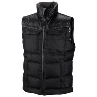 Columbia Sportswear Tech District Omni-Heat® Down Vest - 700 Fill Power (For Men) in Black