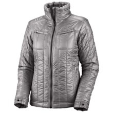 Columbia Sportswear Tech Trekker Omni-Heat® Jacket - Insulated (For Women) in Light Grey - Closeouts