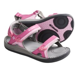 Columbia Sportswear Techsun 3-Strap Sandals (For Kids) in Pink Lady/Pink Carnation