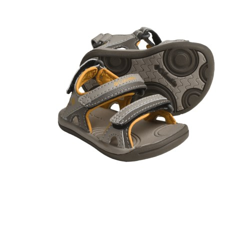 Columbia Sportswear Techsun 3-Strap Sandals (For Toddlers) in Bungee Cord/Amber