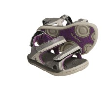 Columbia Sportswear Techsun 3-Strap Sandals (For Toddlers) in Bungee Cord/Wood Violet - Closeouts