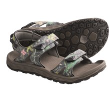Columbia Sportswear Techsun III Camo Sandals (For Women) in Mud/Coral Pink - Closeouts