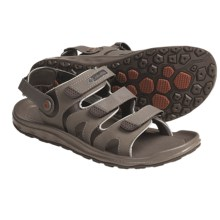 Columbia Sportswear Techsun Interchange 2 Sport Sandals (For Men) in Bungee Cord/Bombay Brown - Closeouts