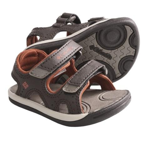 Columbia Sportswear Techsun Sandals (For Toddlers) in Cordovan/Cedar