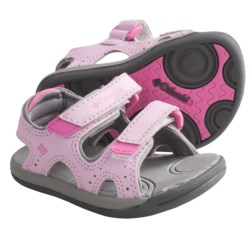 Columbia Sportswear Techsun Sandals (For Toddlers) in Pink Lady/Castlerock