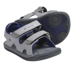 Columbia Sportswear Techsun Sandals (For Toddlers) in Black/Smoked Pearl
