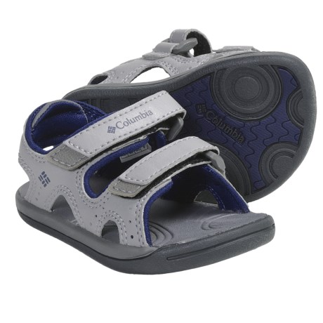 Columbia Sportswear Techsun Sandals (For Toddlers) in Wild Dove/Estate Blue