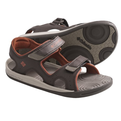 Columbia Sportswear Techsun Sandals (For Youth) in Cordovan/Cedar