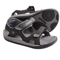 Columbia Sportswear Techsun Sport Sandals (For Kids) in Black/Smoked Pearl