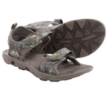 Columbia Sportswear Techsun Vent Camo Sandals (For Men) in Mossy Oak/Mud - Closeouts