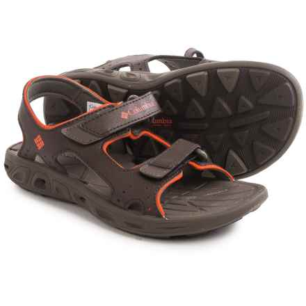 Columbia Sportswear Techsun Vent Sport Sandals (For Little and Big Kids) in Cordovan/Spicy - Closeouts