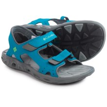 Columbia Sportswear Techsun Vent Sport Sandals (For Little and Big Kids) in Dark Compass/Nuclear - Closeouts