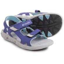 Columbia Sportswear Techsun Vent Sport Sandals (For Little Kids) in Purple Lotus/Sky Blue - Closeouts