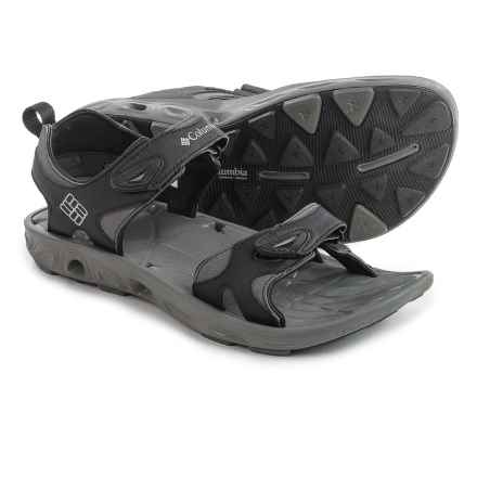 Columbia Sportswear Techsun Vent Sport Sandals (For Men) in Black/Columbia Grey - Closeouts