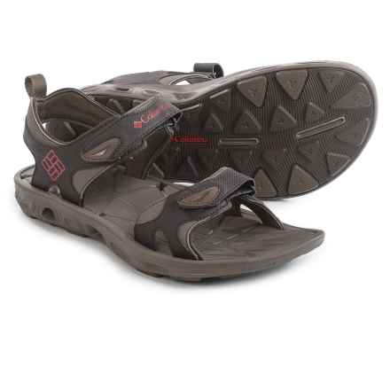 Columbia Sportswear Techsun Vent Sport Sandals (For Men) in Cordovan/Gypsy - Closeouts