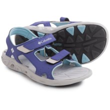 Columbia Sportswear Techsun Vent Sport Sandals (For Toddlers) in Purple Lotus/Sky Blue - Closeouts