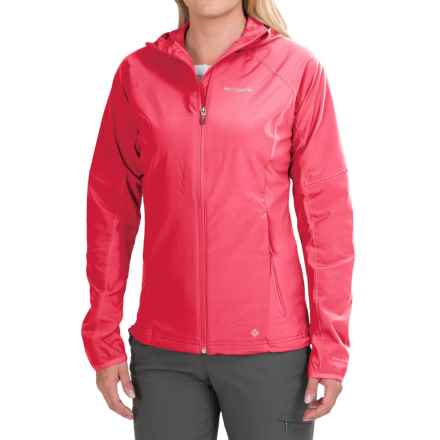 Columbia Sportswear Tempting Tilt Omni-Shield® Jacket (For Women) in Red Hibiscus - Closeouts