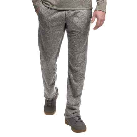 Columbia Sportswear Tenino Woods Fleece Pants (For Men) in Black Heather - Closeouts