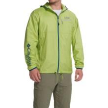 Columbia Sportswear Terminal Spray Omni-Shade® Jacket - UPF 40 (For Men) in Napa Green/Cool Grey - Closeouts