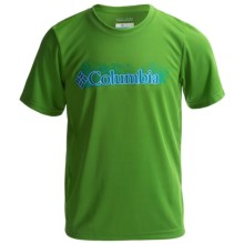 Columbia Sportswear Terminal Tackle Graphic T-Shirt - UPF 50, Short Sleeve (For Boys) in Clean Green - Closeouts