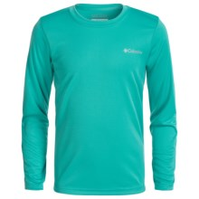 Columbia Sportswear Terminal Tackle Omni-Wick® T-Shirt - UPF 50+, Long Sleeve (For Little and Big Boys) in Miami - Closeouts