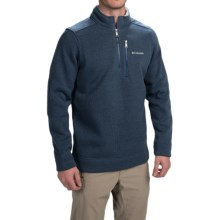 Columbia Sportswear Terpin Point 2 Sweater - Zip Neck (For Men) in Carbon - Closeouts