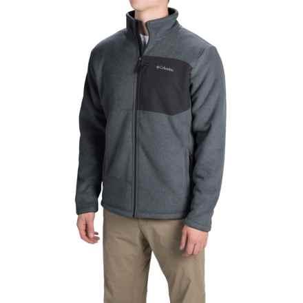 Columbia Sportswear Teton Peak Fleece Jacket (For Men) in Black - Closeouts