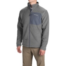 Columbia Sportswear Teton Peak Fleece Jacket (For Men) in Buffalo/Graphite - Closeouts