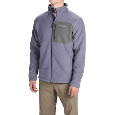 Columbia Sportswear Teton Peak Fleece Jacket (For Men) in Nocturnal/Graphite - Closeouts