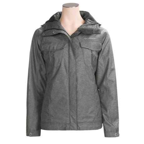 Columbia Sportswear The Echo Park Jacket - Insulated (For Women) in Black